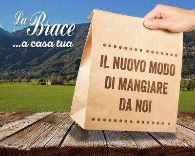 Prenotazioni da asporto cibo valtellinese del ristorante La Brace